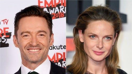 Hugh Jackman och Rebecca Ferguson i sci-fi film tillsammans