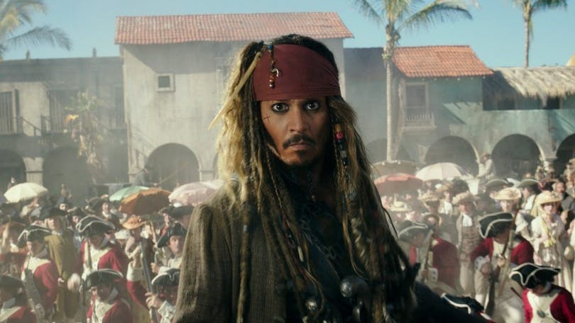 En bild på Jack Sparrow