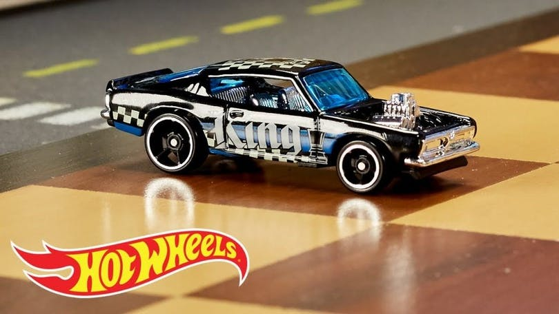 Bild på en Hot Wheel bil