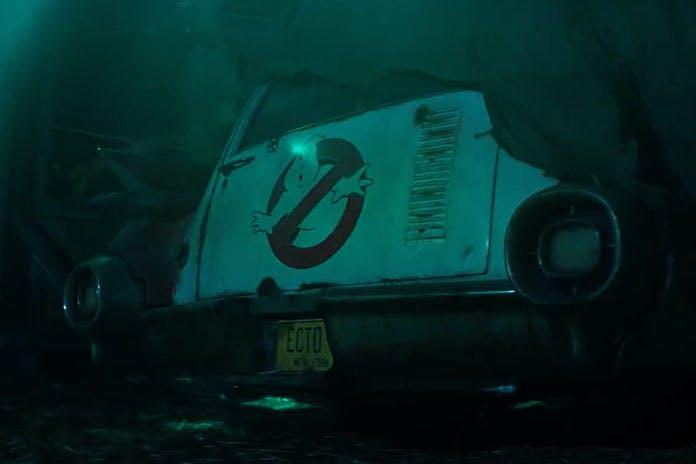 En bild på Ghost buster bilen