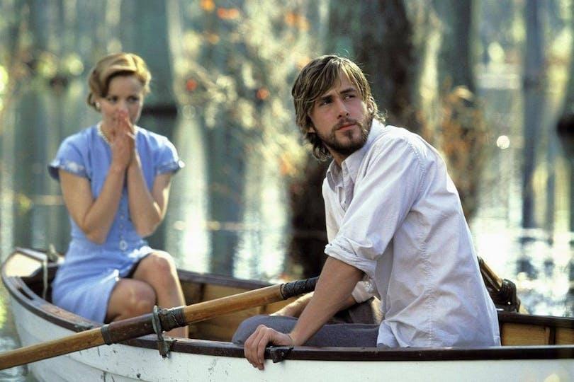 Ryan Gosling och Rachel McAdams i Nicholas Sparks Dagboken