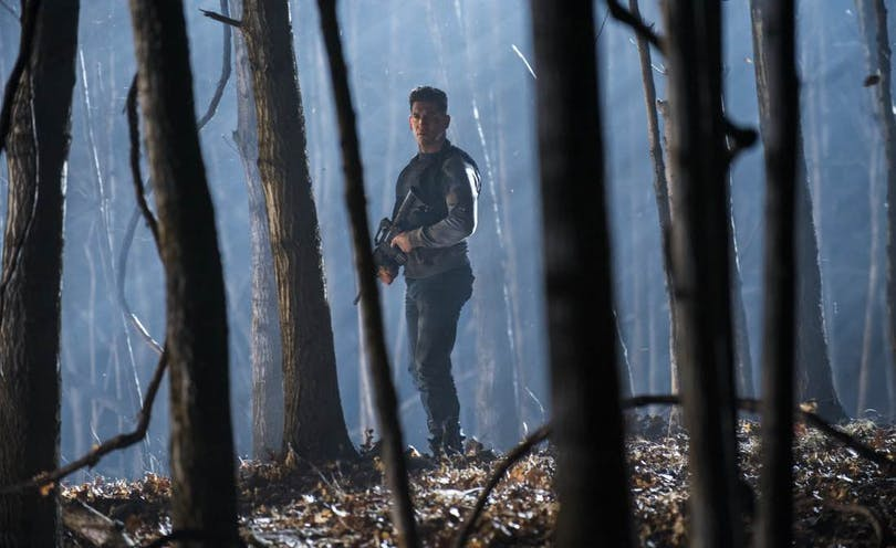 Jon Bernthal som Frank Castle i Netflix-serien The Punisher.