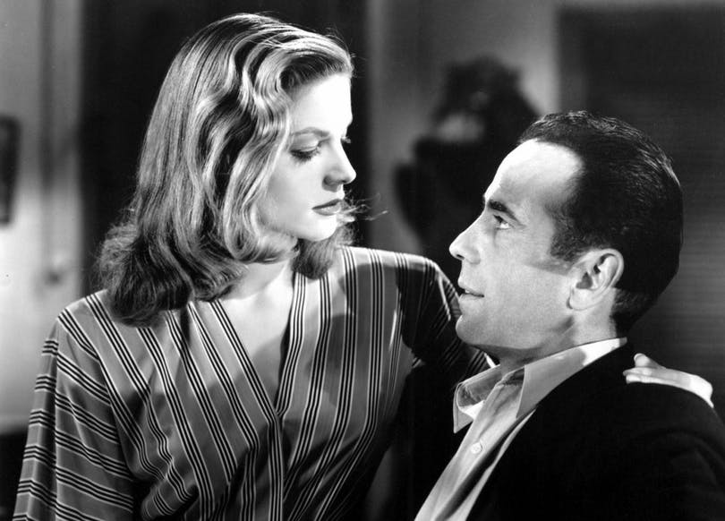 TO HAVE AND HAVE NOT, Lauren Bacall, Humphrey Bogart.