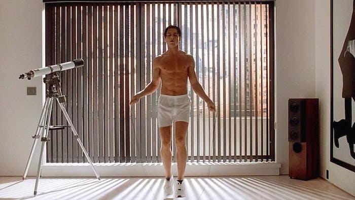"Christian Bale i ""American Psycho"""
