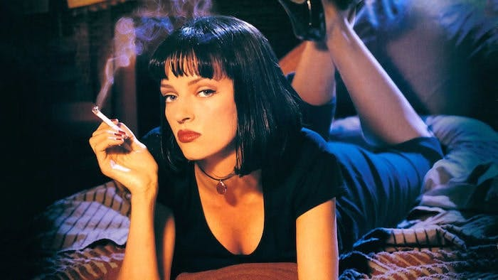 "Uma Thurman i ""Pulp Fiction"""