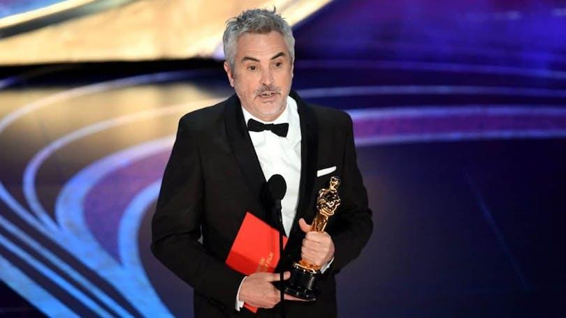 Alfonso Cuarón som vann tre Oscar för Roma