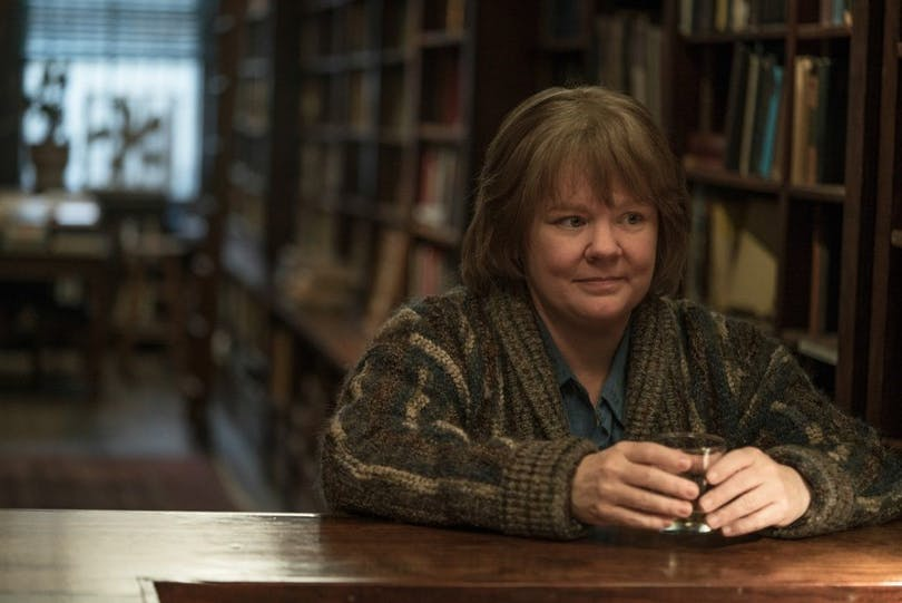 "Melissa McCarthy i ""Can You Ever Forgive Me?""."