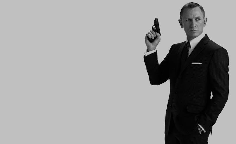 En bild på Daniel Craig som James Bond