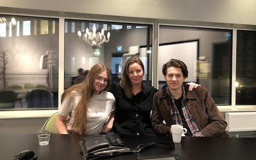 Intervju: Lina Mannheimer, Naomi Carter & Edvin Kempe (Parning)