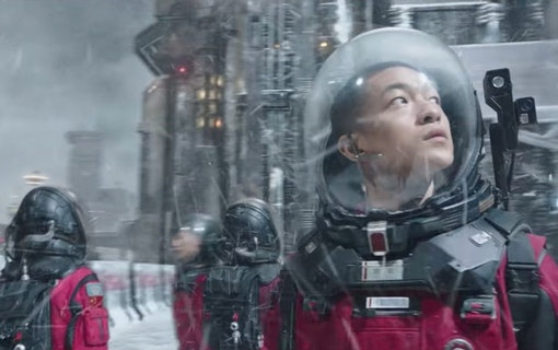 Största Kinesiska sci-fi filmen kommer till Netflix