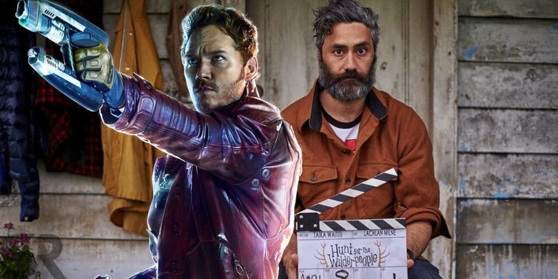 Taika Waititi och Chris Pratt aka Star-Lord!