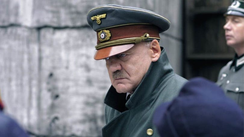 Bruno Ganz som Adolf Hitler i Undergången.
