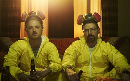 Breaking Bad filmen visas på Netflix