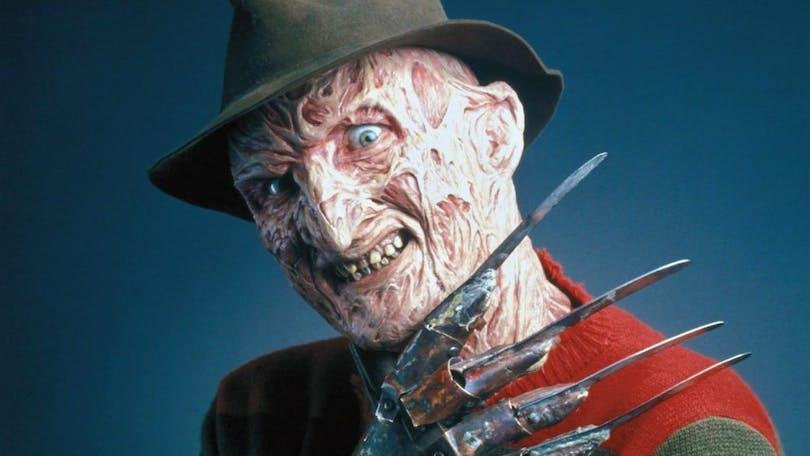 Robert Englund som Freddy Kreuger.