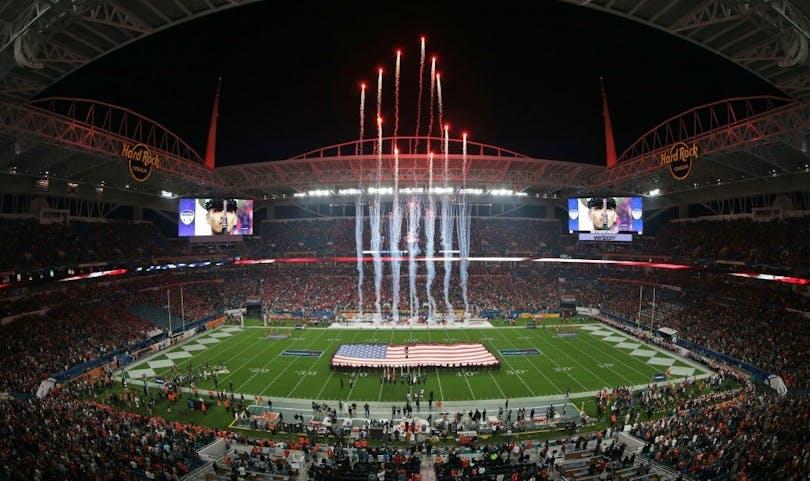 Bild av Super Bowl arenan