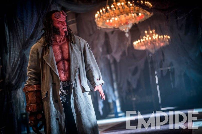 Bild på Harbour som Hellboy