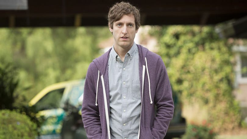 Thomas Middleditch i Silicon Valley.