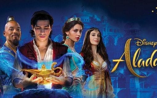 Nya posters till Aladdin