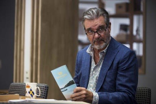 Kjell Bergqvist huvudrollen i GW Persson-serien Bäckström