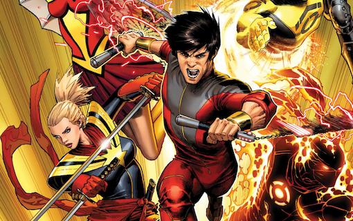 Snart kommer Marvels första film med en asiatisk huvudroll