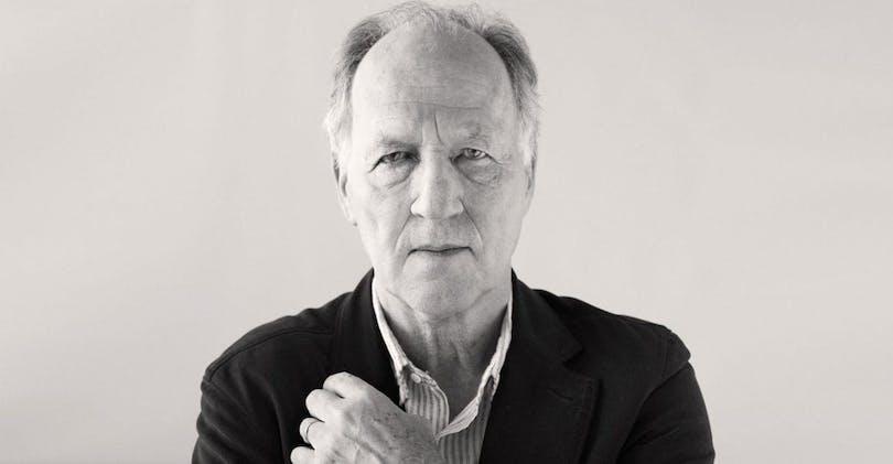 En bild på skådespelaren och regissören Werner Herzog