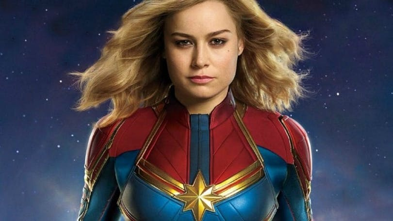 En bild på Captain Marvel