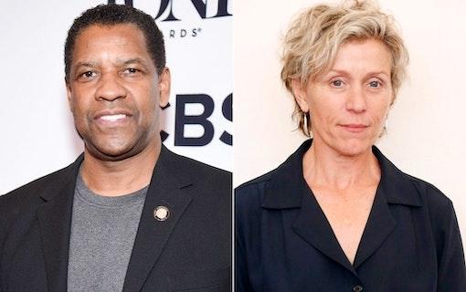 Denzel Washington och Frances McDormand i film av brodern Coen