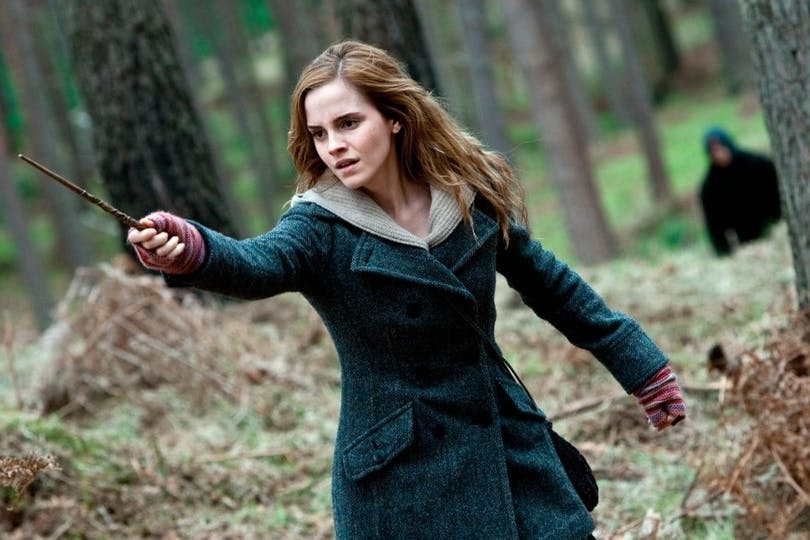 Emma Watson i Harry Potter and the Deathly Hallows: Del 1.