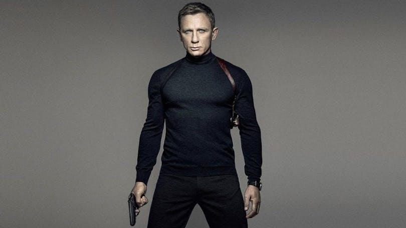 En bild av Daniel Craig som James Bond