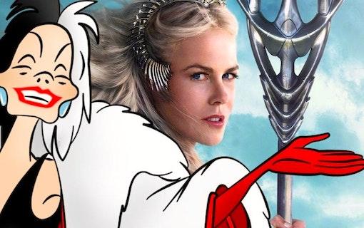 Nicole Kidman favorit att spela Cruella DeVil