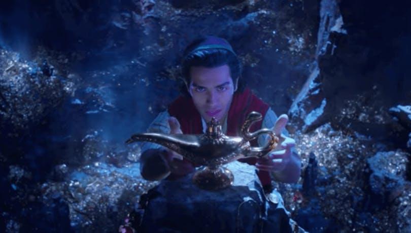 En bild av Aladdin