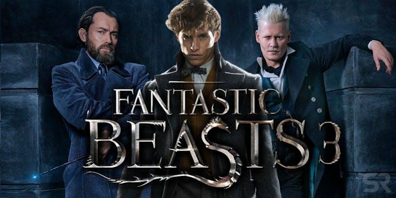 En poster till Fantastic Beasts 3