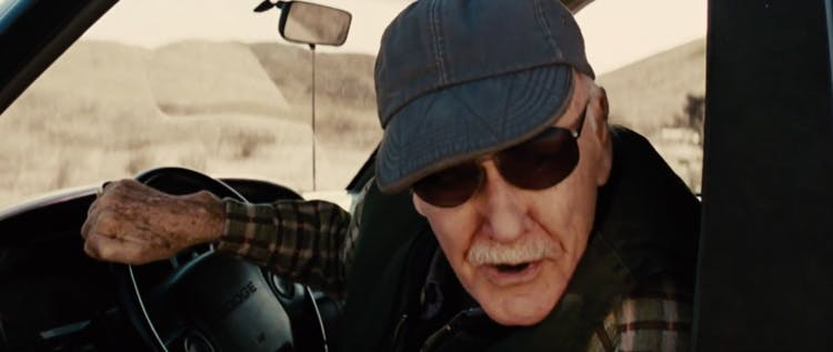 Stan Lee i Thor.