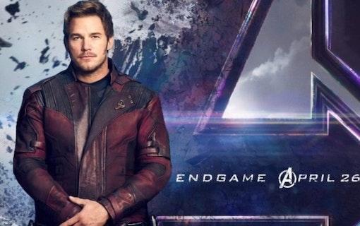 Chris Pratt postar video bakom kulisserna på Avengers: Endgame