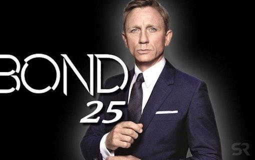 Spana in de första bilderna under produktionen av Bond 25