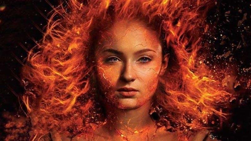 En bild på Sophie Turner som Phoenix