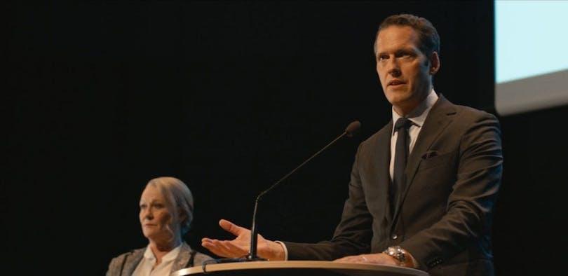 """Niklas Engdahl i """"Den inre cirkeln""""."""