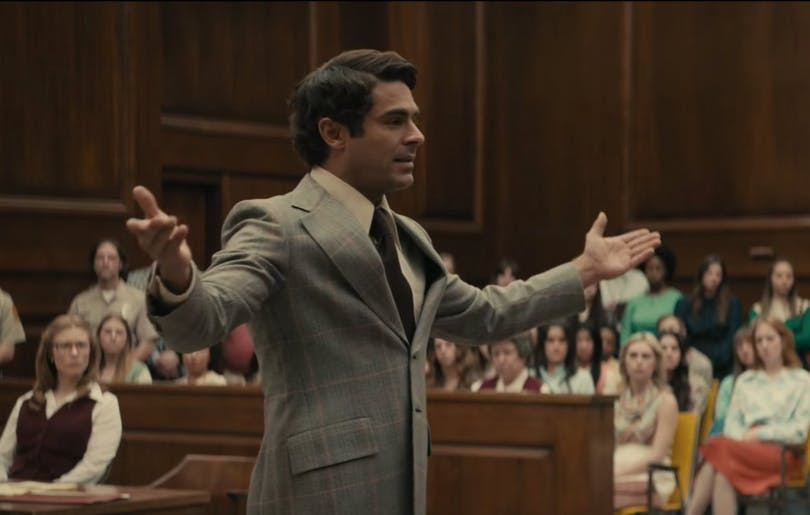 "Zac Efron spelar Ted Bundy i ""Extremely Wicked, Shockingly Evil and Vile""."