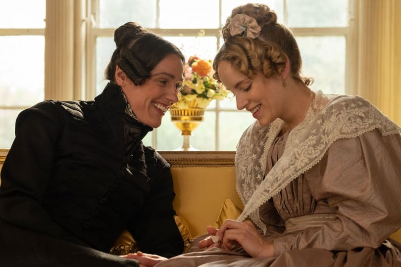"Suranne Jones och Sophie Rundle i ""Gentleman Jack""."