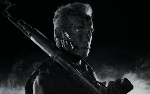 Se gråhårig Arnold och Linda Hamilton i kommande Terminator
