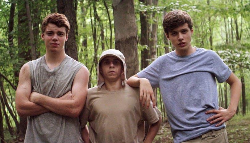 Gabriel Basso, Moises Arias och Nick Robinson i Kings of Summer.