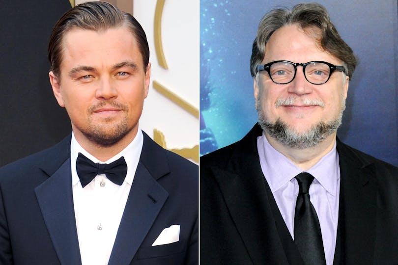 En bild av Leonardo DiCaprio och Guillermo Del Toro