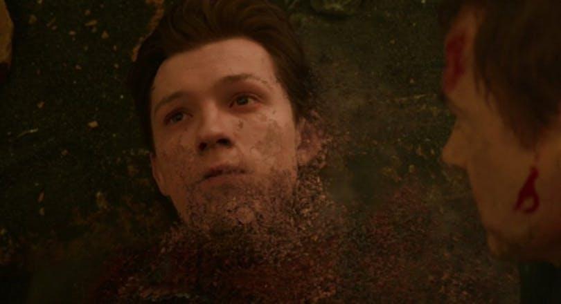 Peter Parker går upp i grus