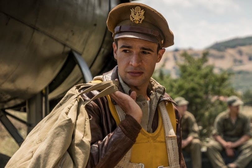 "Christopher Abbott som Yossarian i ""Catch-22""."