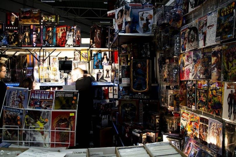 Comic Con Göteborg.