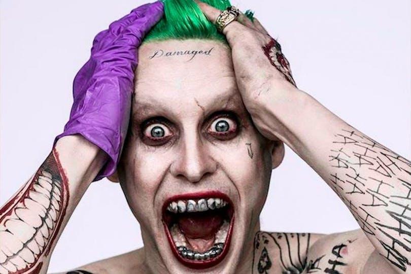 En bild på Jared Leto som Jokern