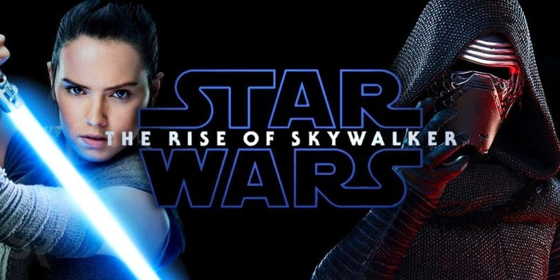 En poster till Star Wars: Rise of Skywalker.
