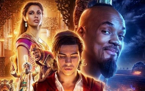 Nya bilder och klipp till Aladdin