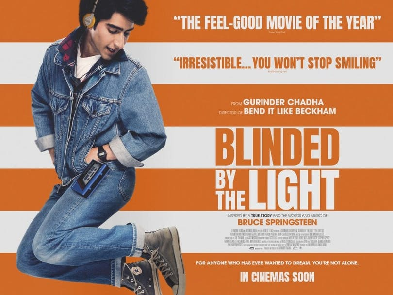Poster till filmen Blinded by the light.