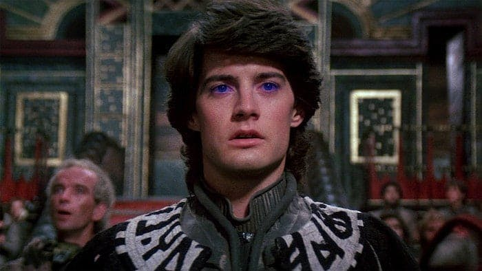 "Kyle MacLachlan i David Lynchs ""Dune""."